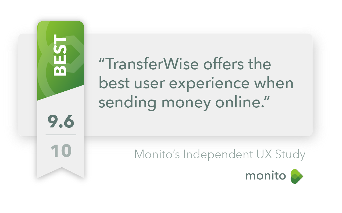The User Experience of Sending Money Online - Benchmark Study by Monito
