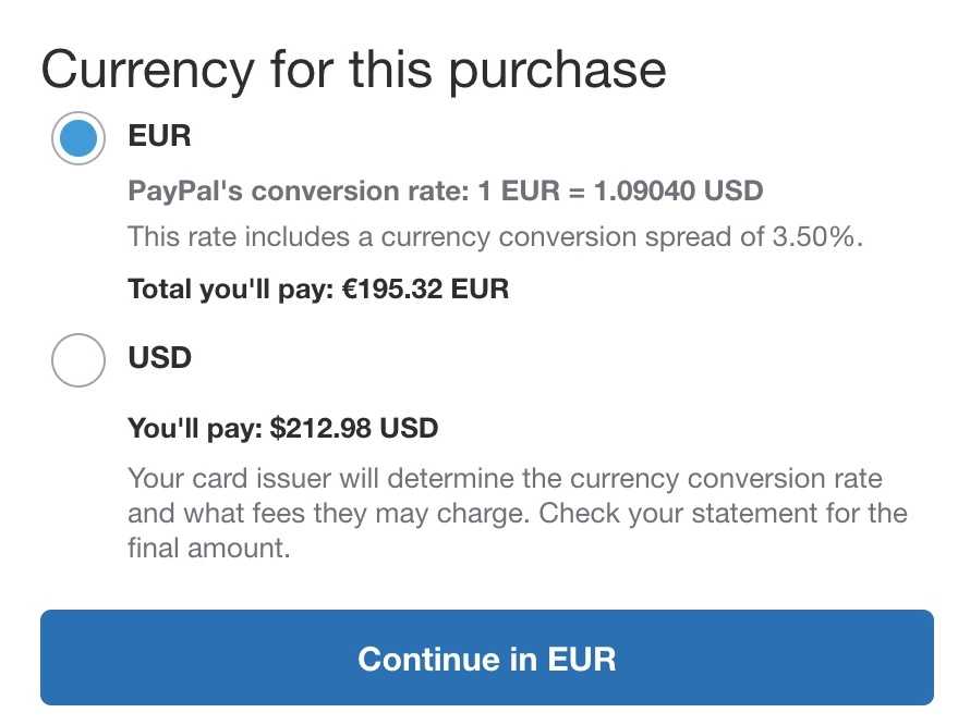 How to reduce PayPal conversion fees & other tricks to save money